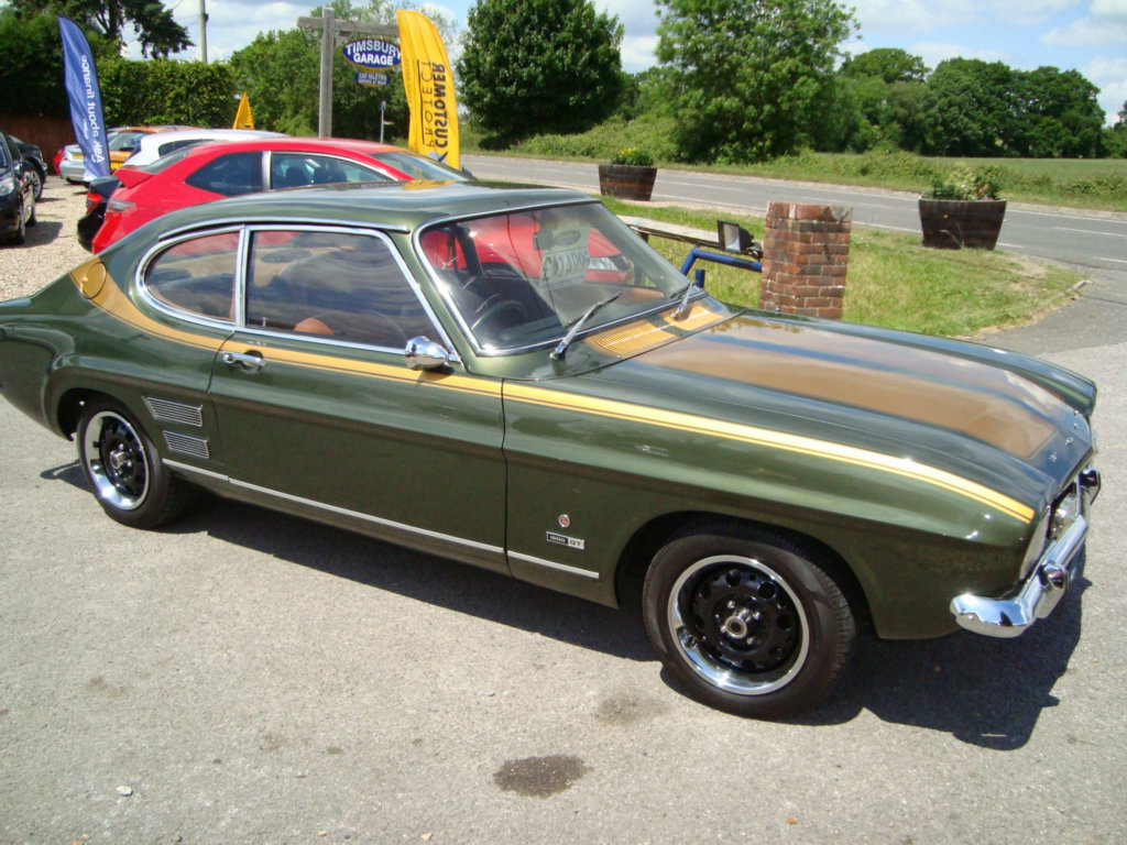 Ford Capri 2.0 gt coupe 2dr