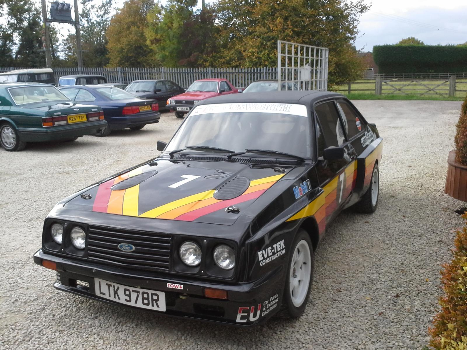 Ford Escort Mk2 XPACK BODY COSWORTH DURA TEC 2.3 RACE RALLY ROAD CAR